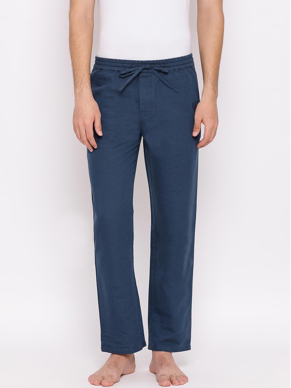 Crimsoune Club | Crimsoune Club Mens Blue Solid Lounge Pants