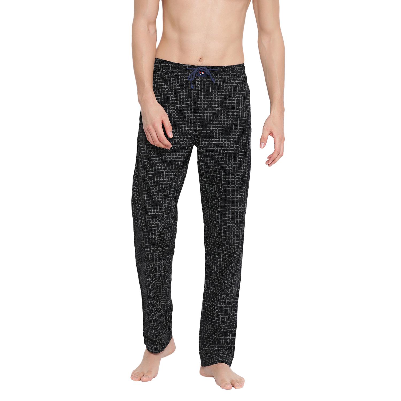 Crimsoune Club | Crimsoune Club Men's Checked Black Lounge Pant