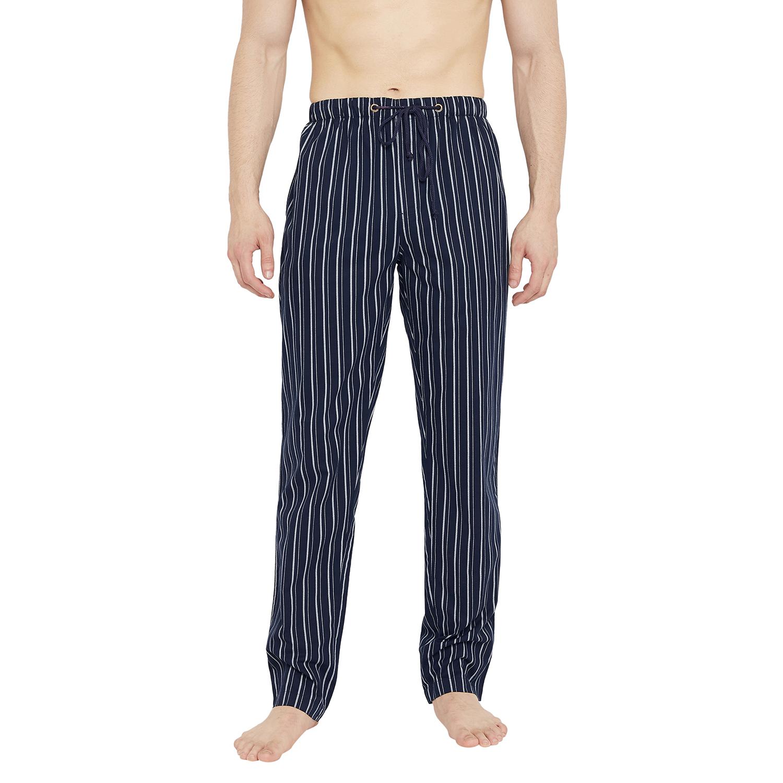 Crimsoune Club   Crimsoune Club Mens Striped Navy Blue Lounge Pant