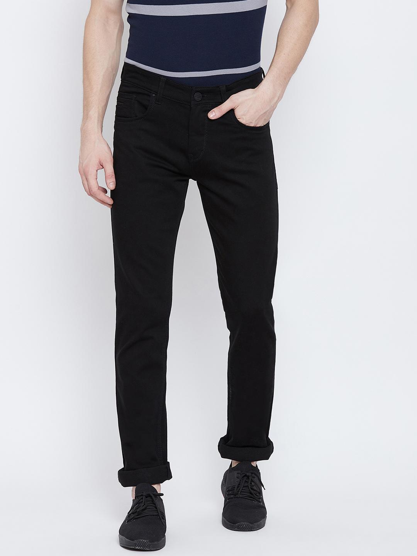 Crimsoune Club   Crimsoune Club Men's Solid Black Jeans