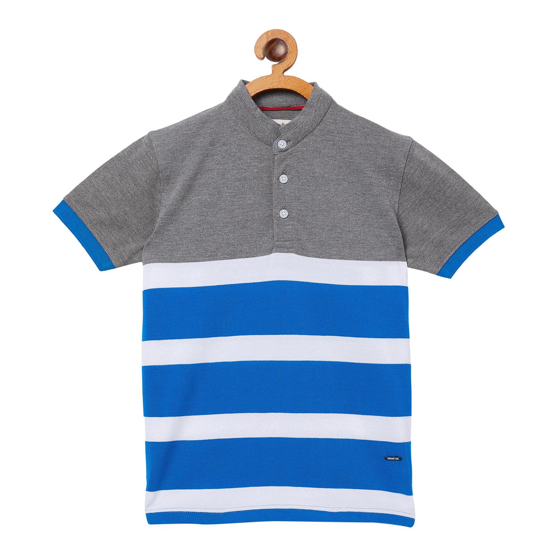 Crimsoune Club | Crimsoune Club Boy's Stripes Grey Tshirt