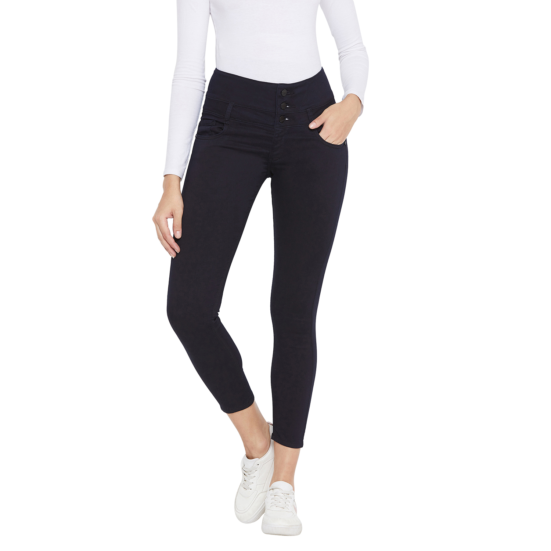 Crimsoune Club | Crimsoune Club Womens Navy Blue Solid jeans