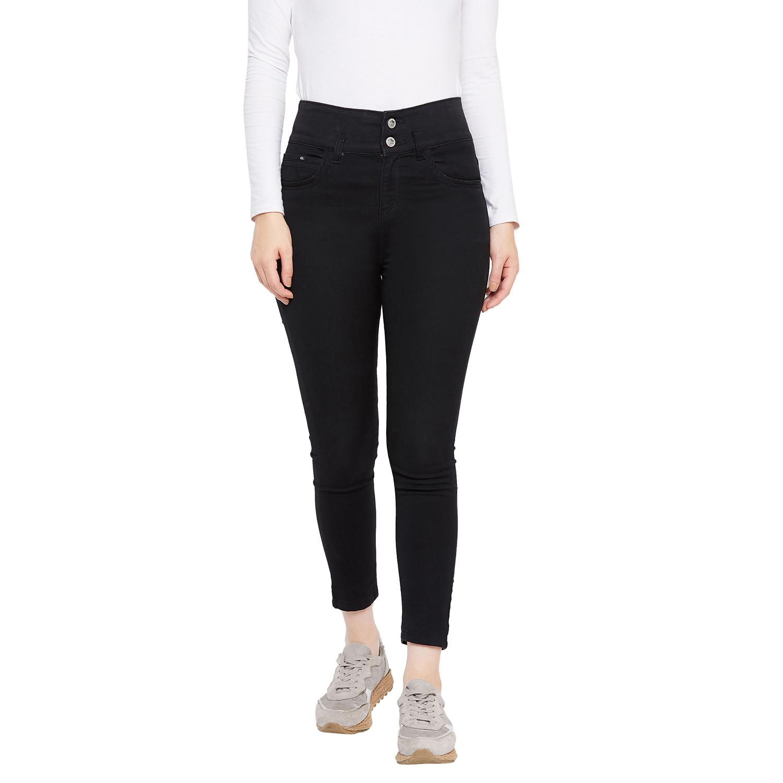 Crimsoune Club | Crimsoune Club Women's Black Solid Jeans
