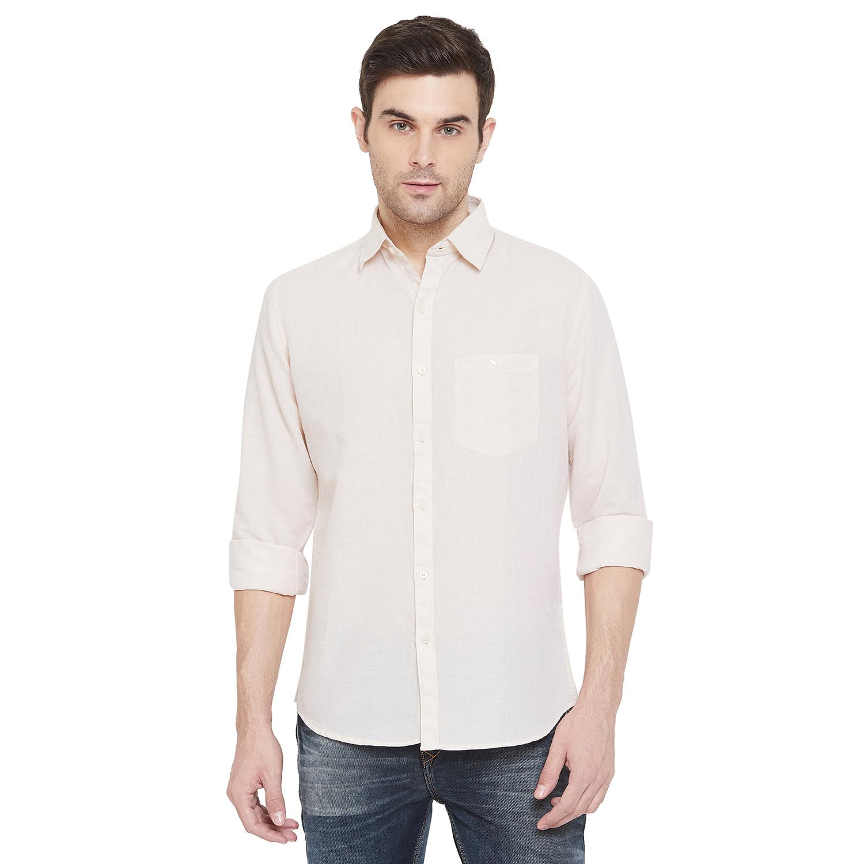 Crimsoune Club | Crimsoune Club Men's Cream Solid Shirt