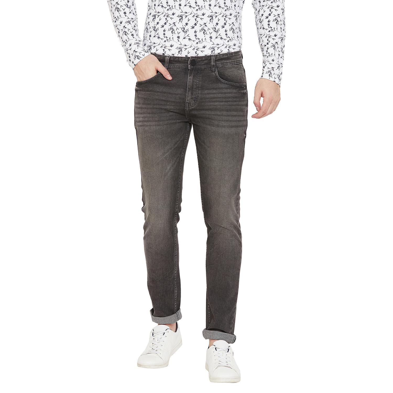 Crimsoune Club | Crimsoune Club Men's Solid Grey Jeans