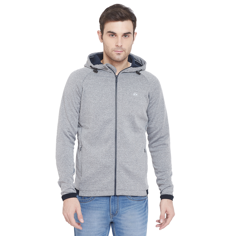 Crimsoune Club | Crimsoune Club Mens Solid Hooded Sweat Shirt