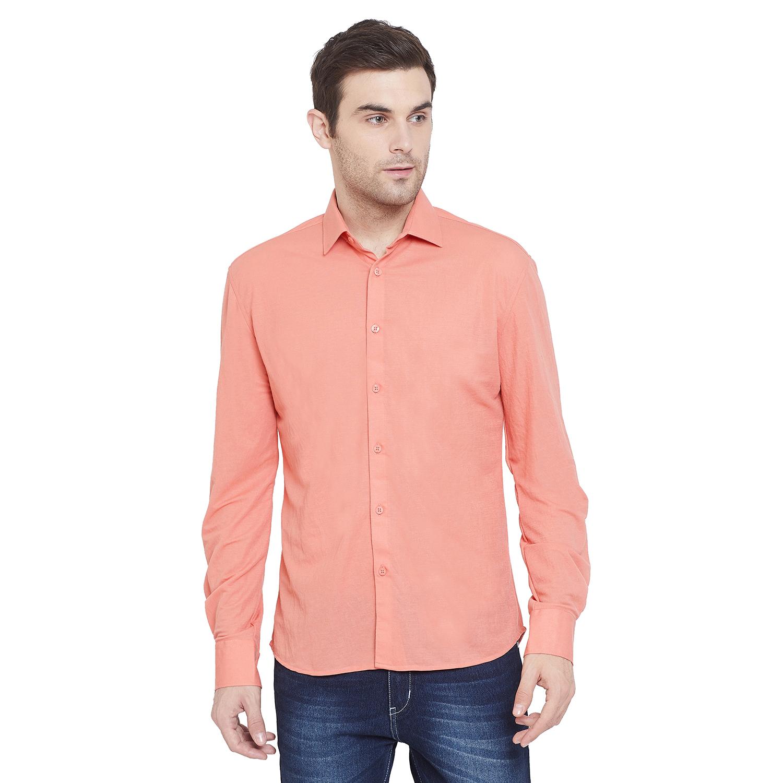 Crimsoune Club | Crimsoune Club Mens Pink Solid Shirt