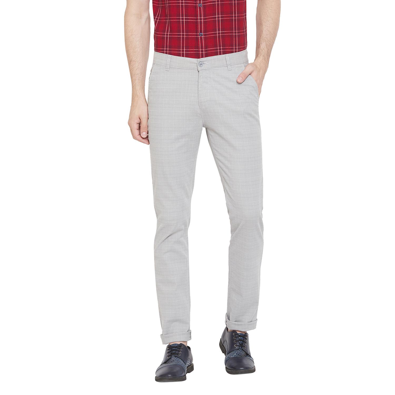Crimsoune Club | Crimsoune Club Men's Grey Checked Trouser