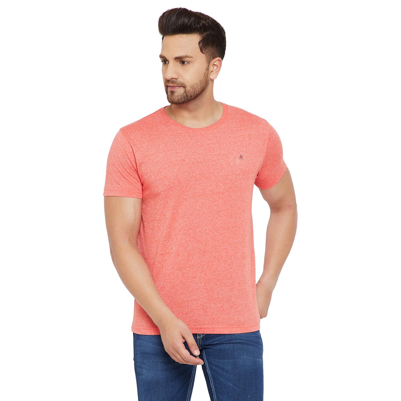 Crimsoune Club | Crimsoune Club Men's Solid Pink Tshirt