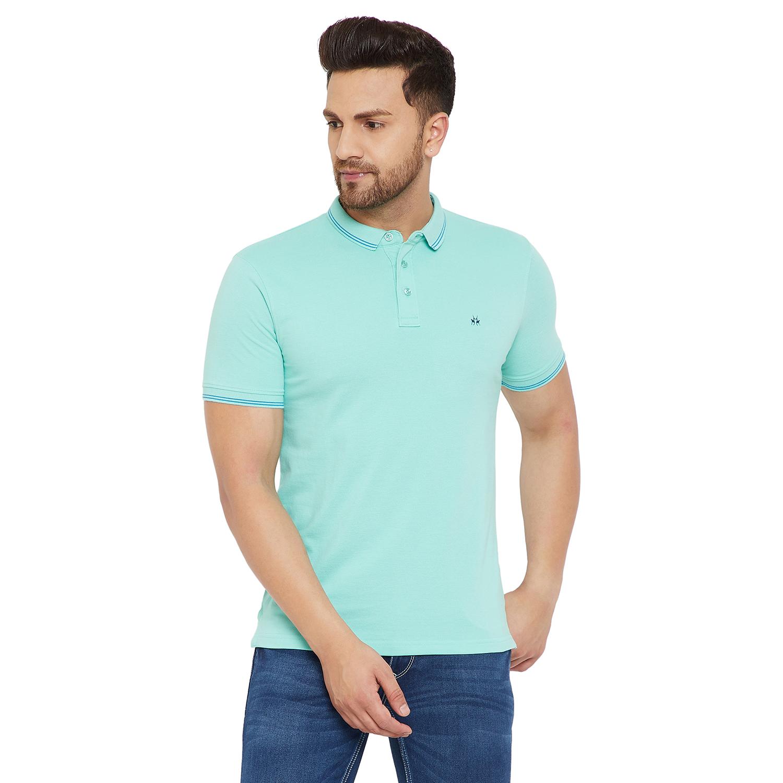 Crimsoune Club | Crimsoune Club Men's Solid Light Blue Tshirt