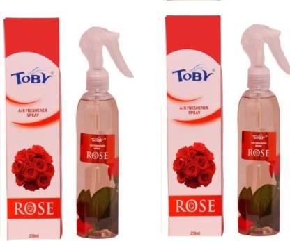 Toby | TOBY Rose Air Freshener (Room Spray) - (250mlx2)