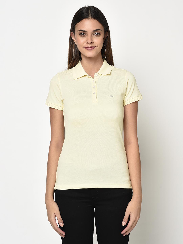 METTLE   Women VANILLA T-Shirts