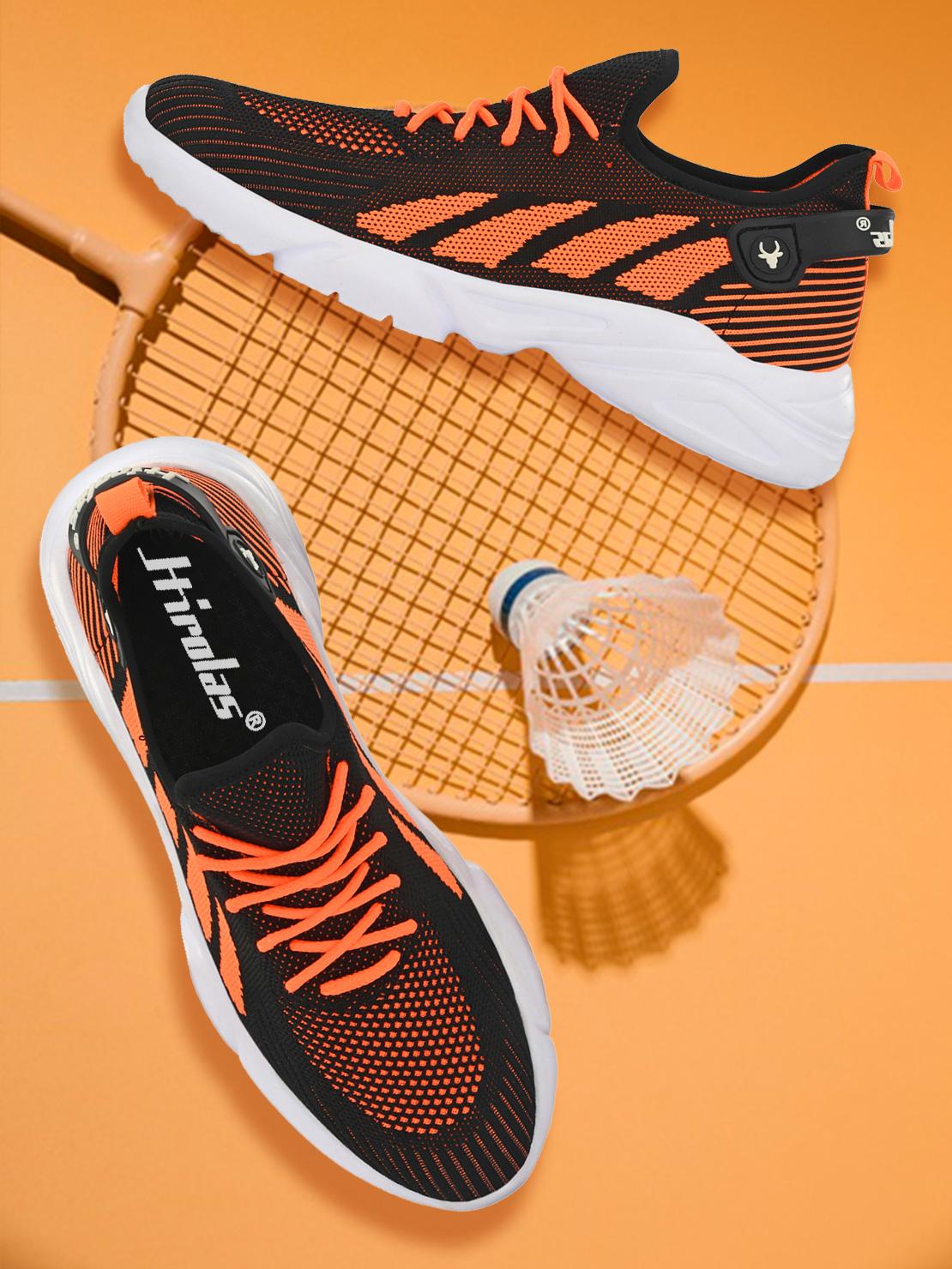 Hirolas   Hirolas® Knitted athleisure Sports Shoes - Black/Grey