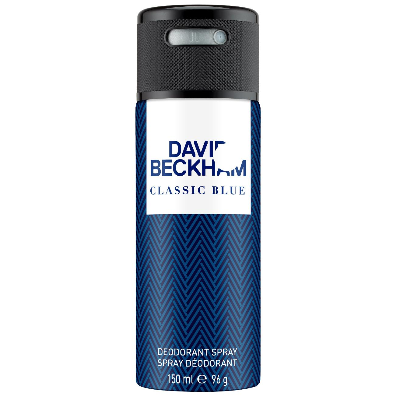 David Beckham   Classic Blue Deodorant Spray 150 ML