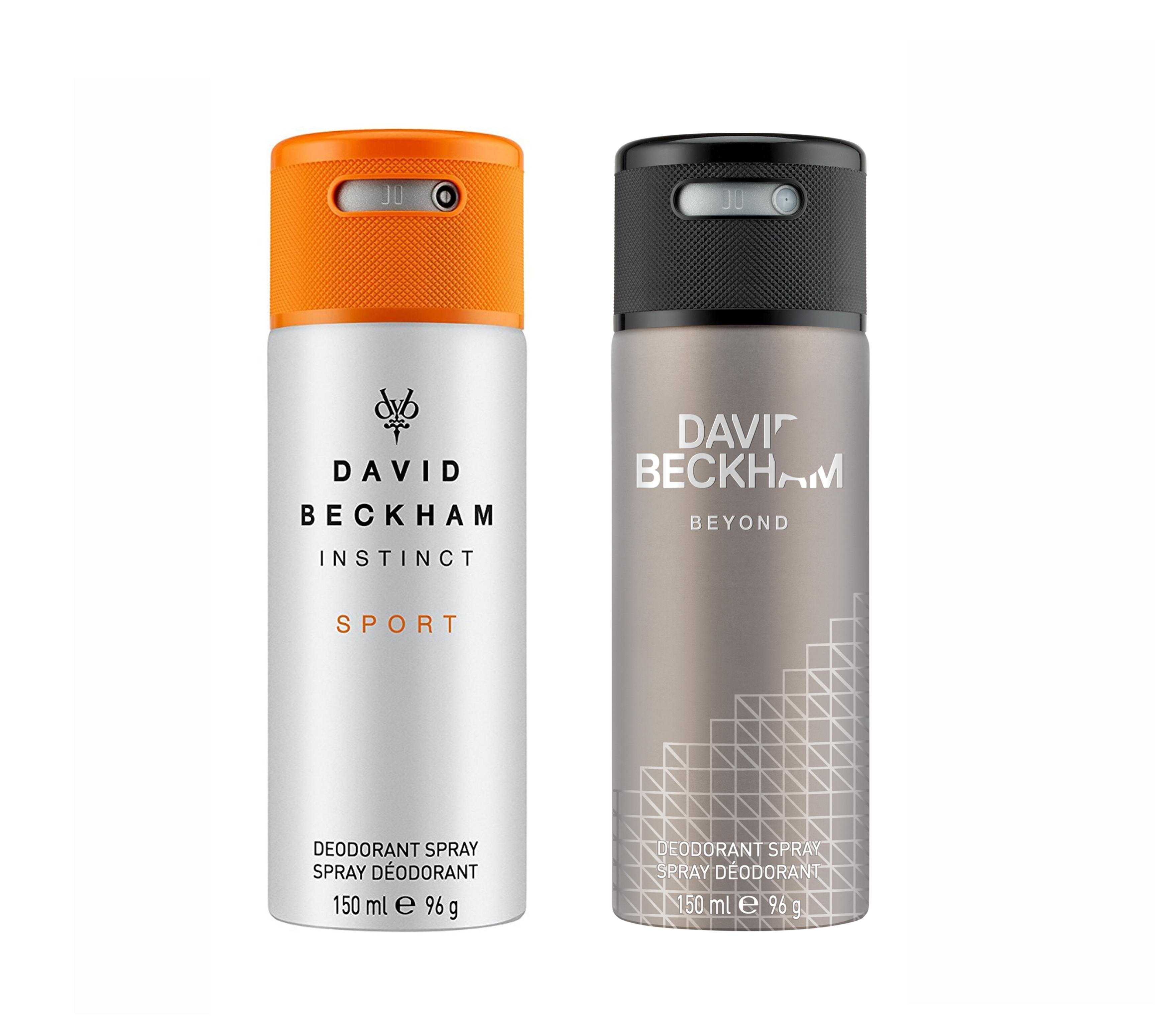 David Beckham | Instinct Sport and Beyond Deo Combo Set of 2