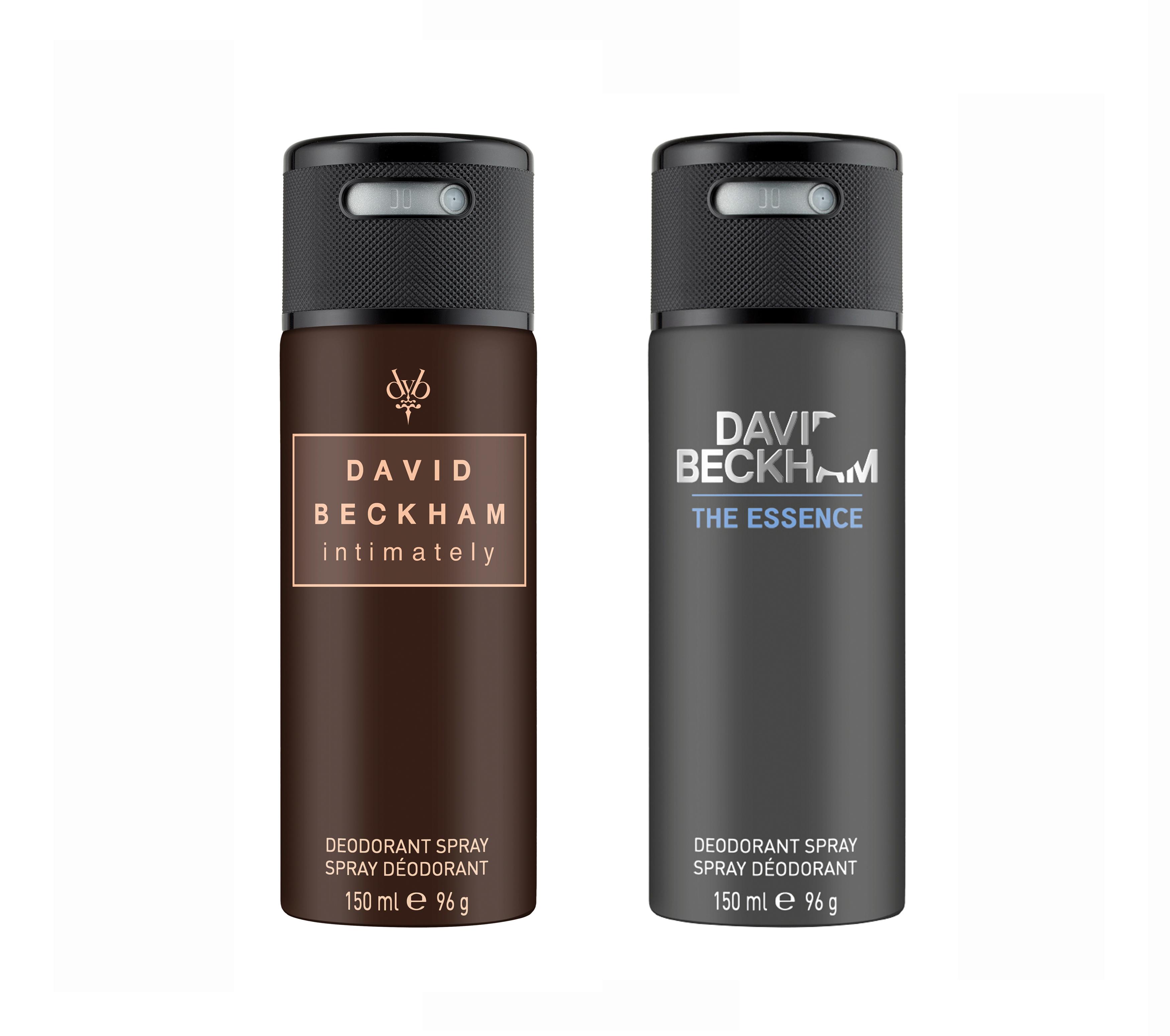 David Beckham | Intimately and Essence Deo Combo Set of 2