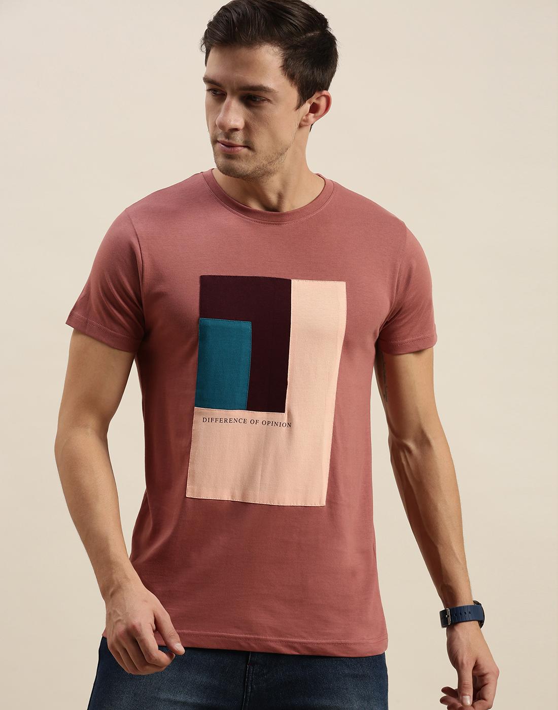 Difference of Opinion | Difference of Opinion Pink Graphic T-Shirt