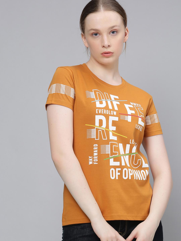 Difference of Opinion | Difference of Opinion of TypoPrinted Printed T-shirt