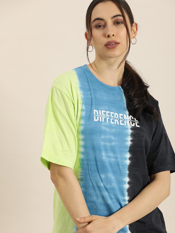Difference of Opinion | Difference of Opinion Women's Oversized Tie & Dye T-Shirt