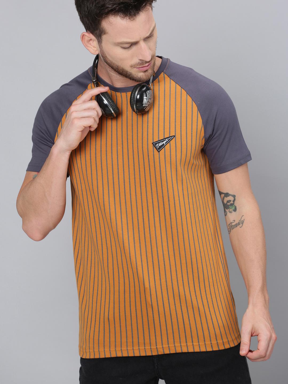 Dillinger   Dillinger Stripes Printed T-shirt