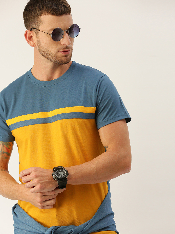 Dillinger   Dillinger Mens Colorblocked T-shirt