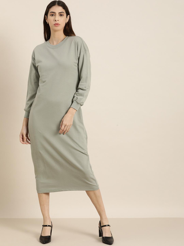 Dillinger | Dillinger Grey Jumper Dress