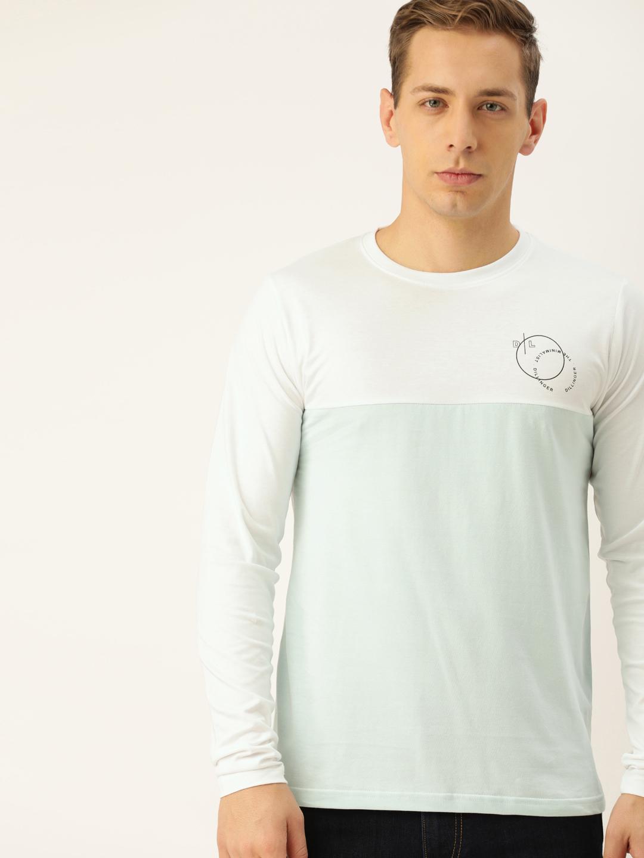 Dillinger   Dillinger Men's Full sleeve Color-block T-shirt