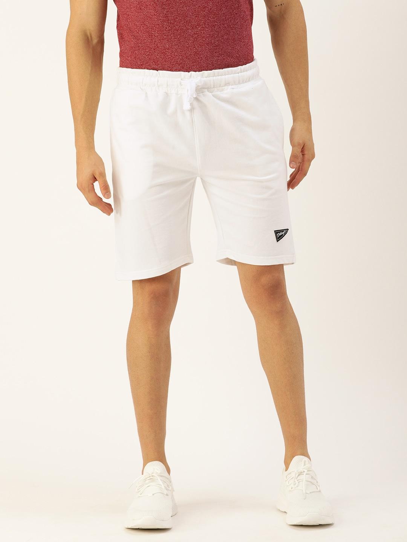 Dillinger | Dillinger White Solid City Shorts
