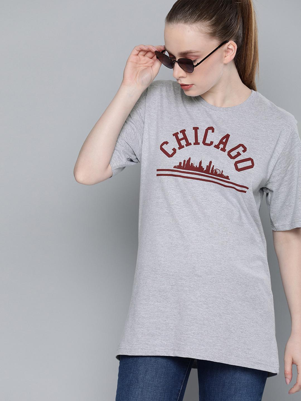 Dillinger | Dillinger Printed Oversized round neck T-shirt