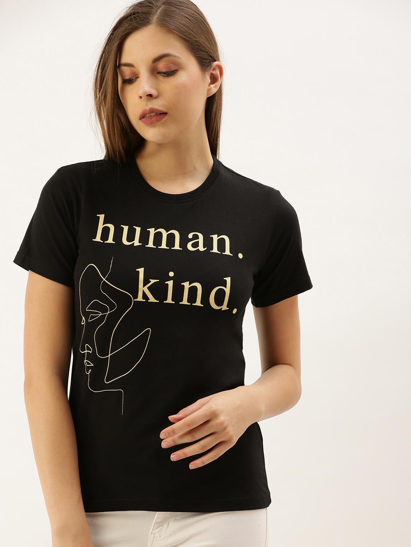 Dillinger | Dillinger Women's Typography Printed T-shirt