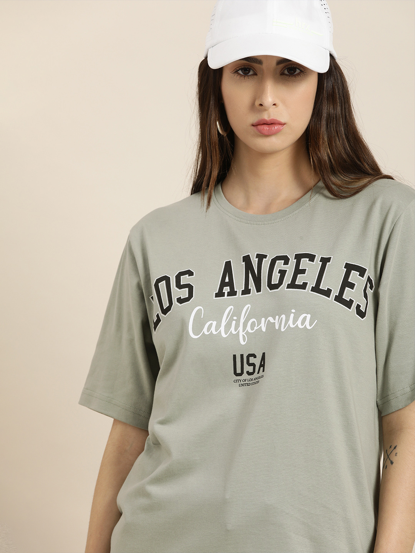 Dillinger | Dillinger Grey Typographic T-shirt