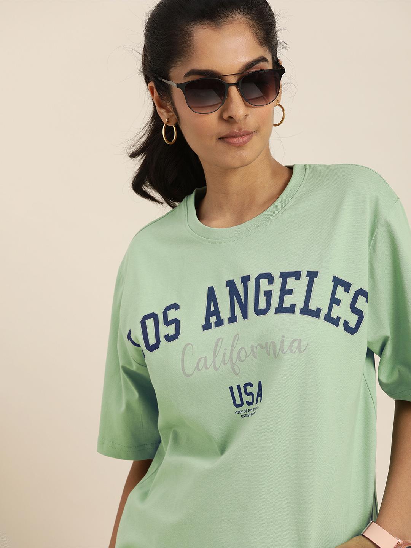 Dillinger | Dillinger Green Typographic T-shirt