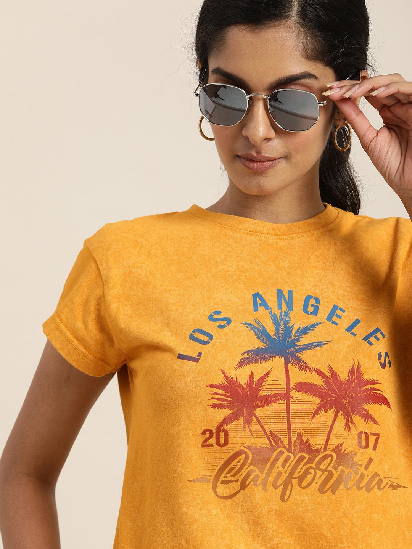 Dillinger | Dillinger Yellow Graphic T-shirt
