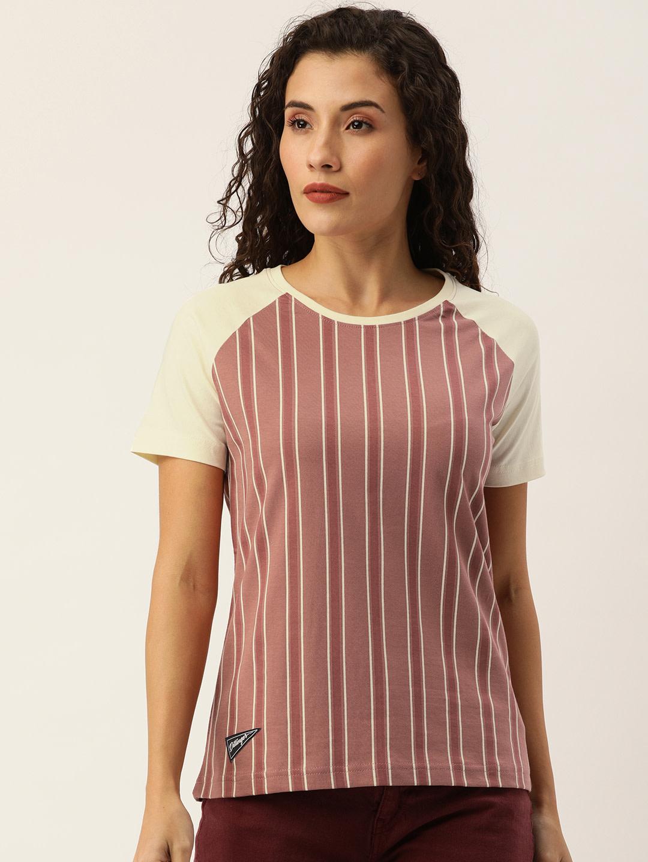 Dillinger   Dillinger Women's Stripe printed T-shirt