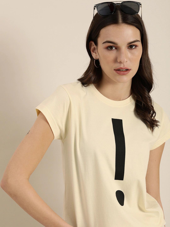 Dillinger | Dillinger Women's Typographic White T-Shirt
