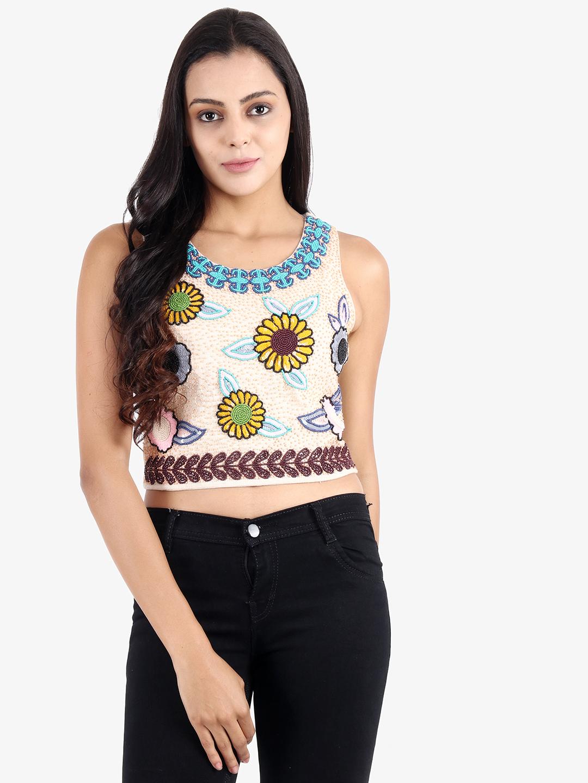 DIWAAH | Diwaah Multi Color Embellished Top