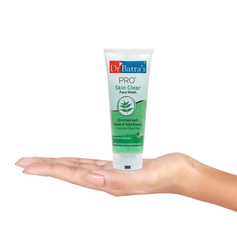 Dr Batra's | Dr Batra's  PRO +Skin Clear Facewash - 100 gm