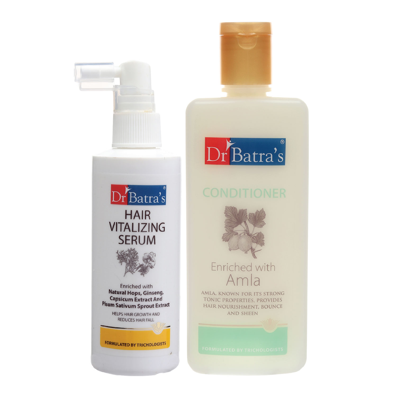 Dr Batra's | Dr Batra's Hair Vitalizing Serum 125 ml and Conditioner - 200 ml
