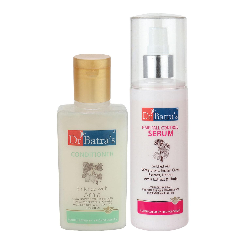 Dr Batra's | Dr Batra's Hair Fall Control Serum-125 ml and Conditioner - 100 ml