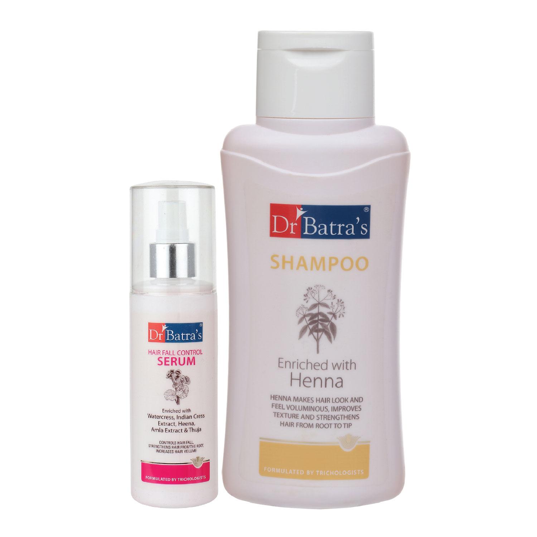 Dr Batra's | Dr Batra's Hair Fall Control Serum-125 ml and Normal Shampoo - 500 ml