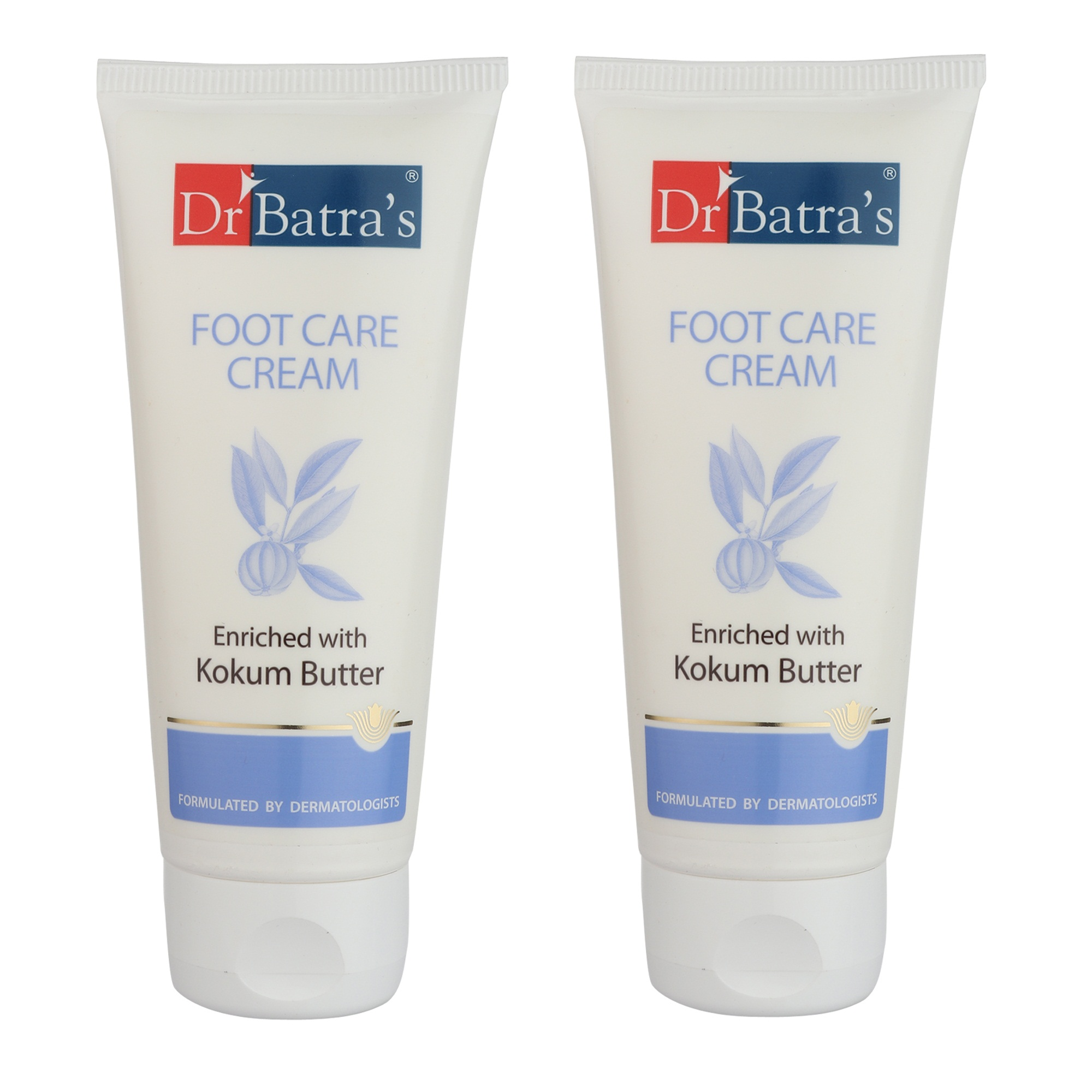 Dr Batra's | Dr Batra's Foot Care Cream Enriched With Kokum Butter - 100 gm (Pack of 2)
