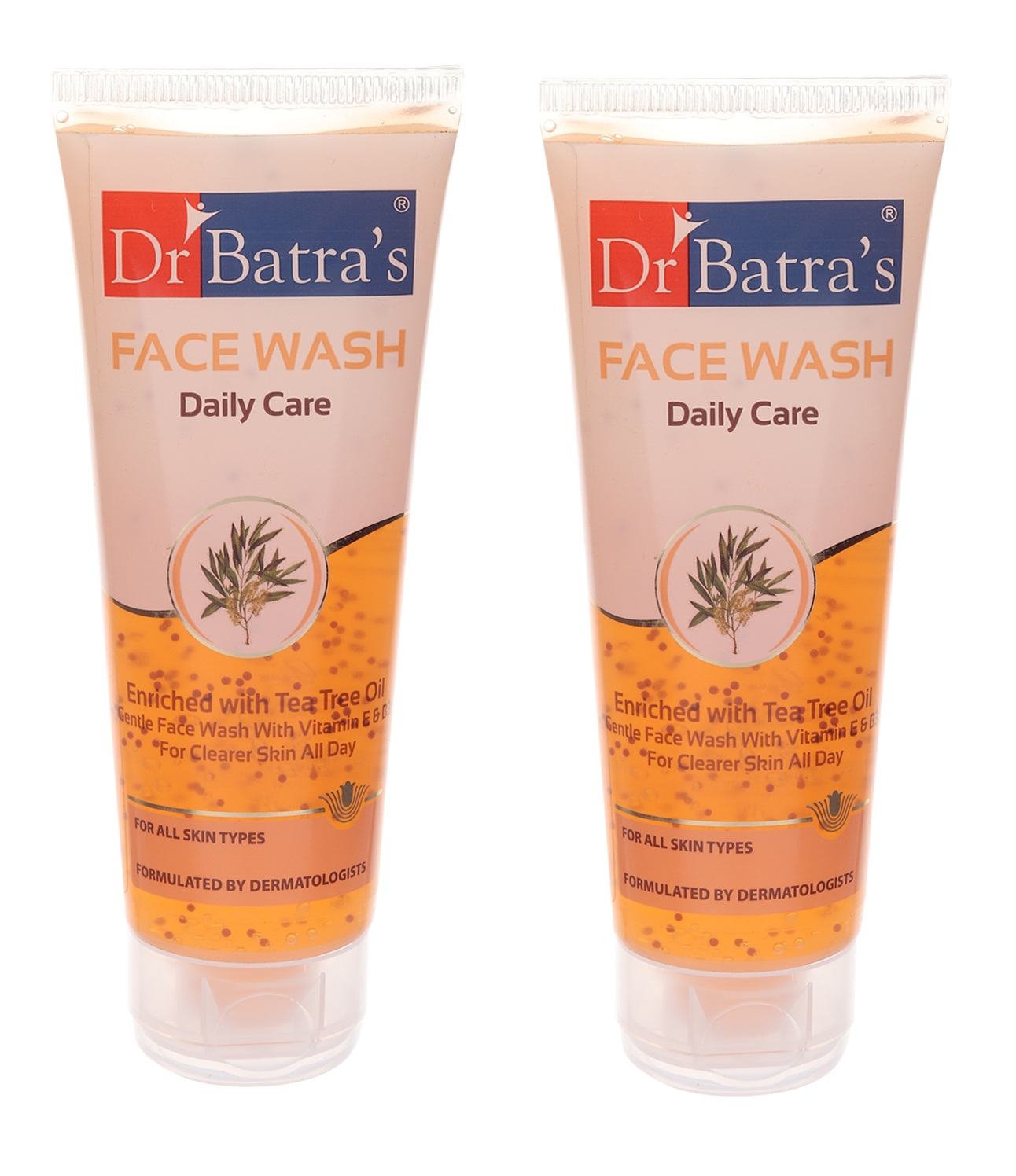 Dr Batra's | Dr Batra's Face Wash Daily Care Enriched With Tea Tree Oil - 100 gm (Pack of 2)