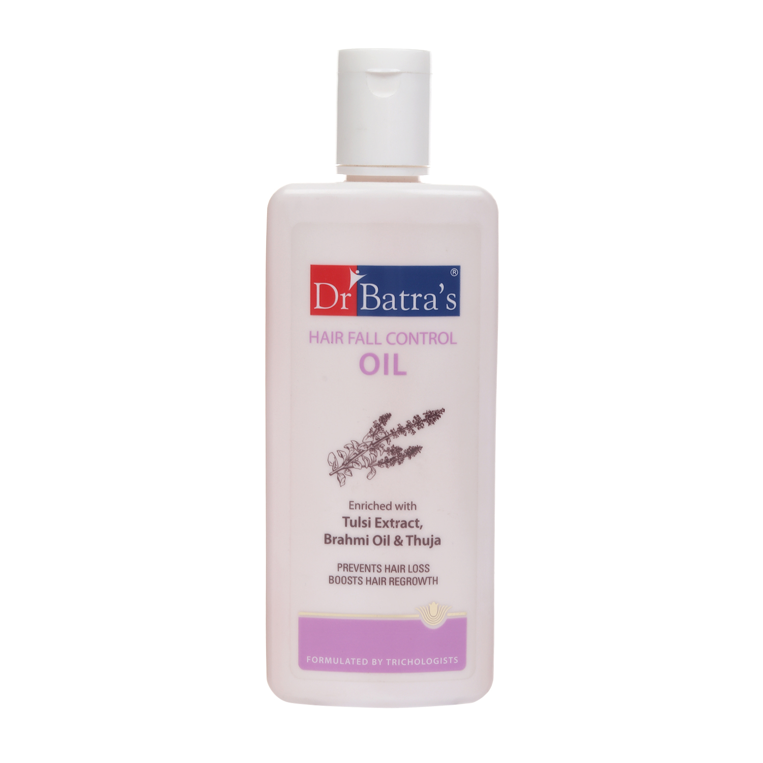 Dr Batra's | Dr Batra'sHair Fall Control Oil Enriched With Tulsi Extract, Brahmi Oil & Thuja - 200 ml