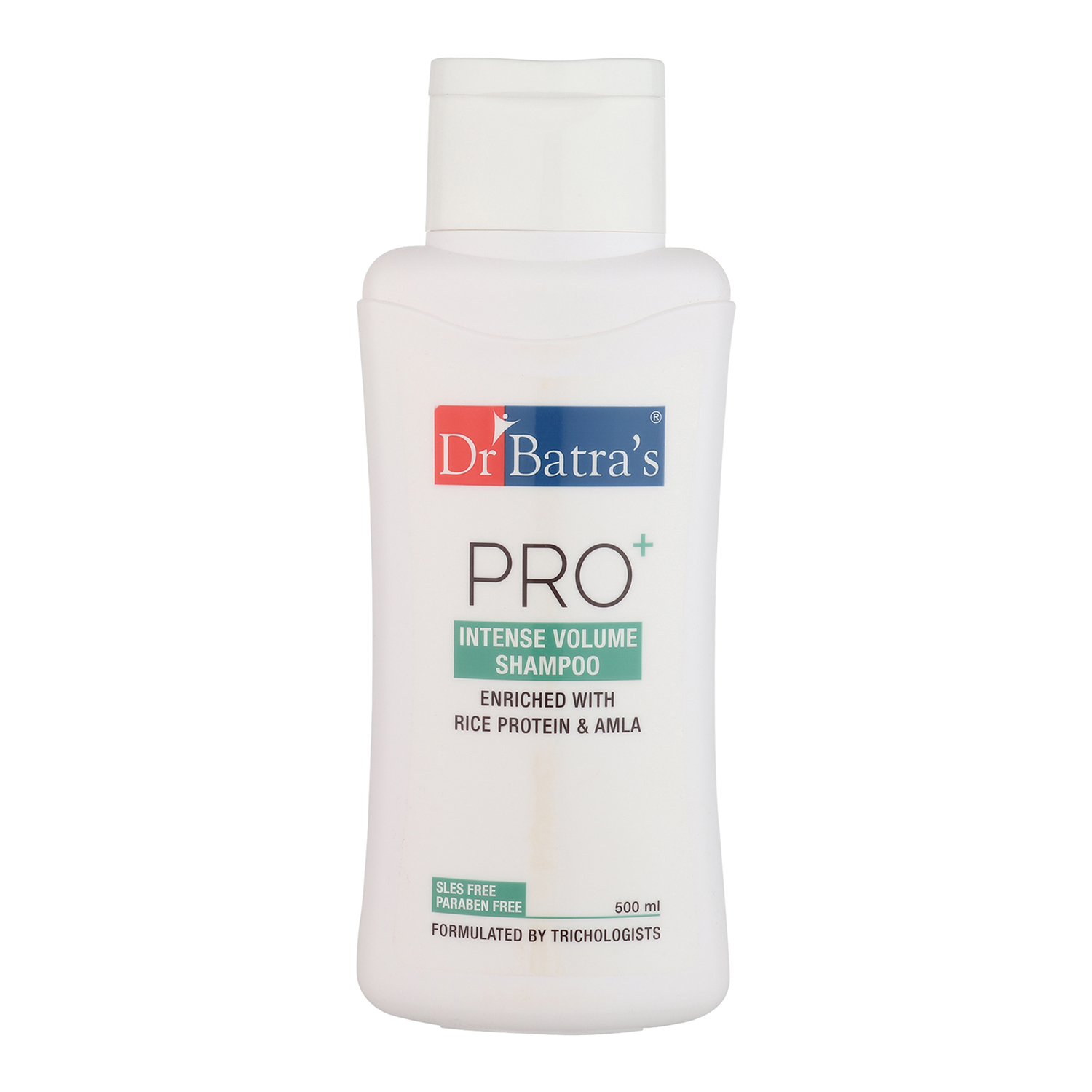 Dr Batra's | Dr Batra's Pro+ Intense Volume Shampoo Enriched With Rice protein & Amla - 500 ml