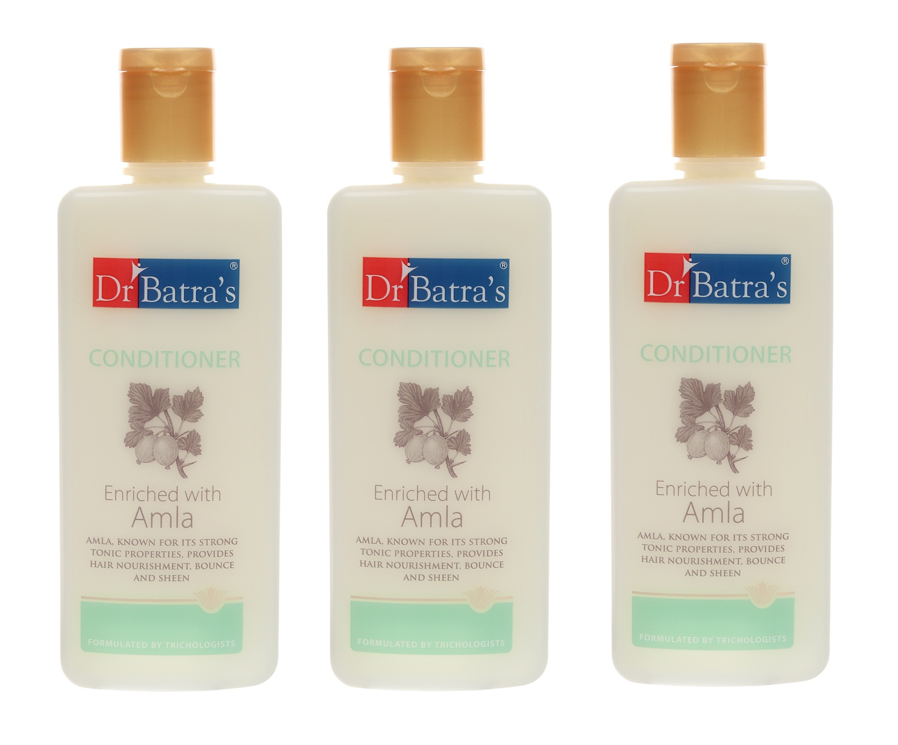 Dr Batra's | Dr Batra's Conditioner Enriched With Amla - 200 ml (Pack of 3)