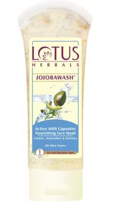 Lotus Herbals | LOTUS HERBALS Jojoba Active Milli Capsules Nourishing Face Wash