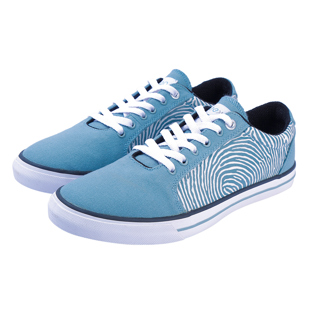 EEKEN | EEKEN Sagebrush Green/White Swan Canvas Lightweight Casual Shoes for Men (by Paragon)