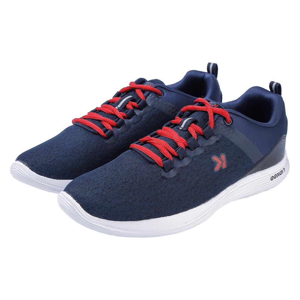 EEKEN | EEKEN Navy/Red Athleisure Lightweight Casual Shoes for Men (by Paragon)