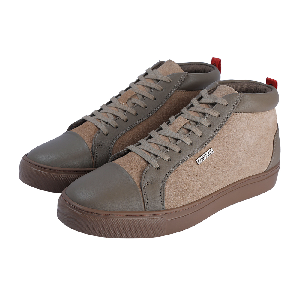 EEKEN   EEKEN Beige Lifestyle Lightweight Casual Shoes for Men (by Paragon)