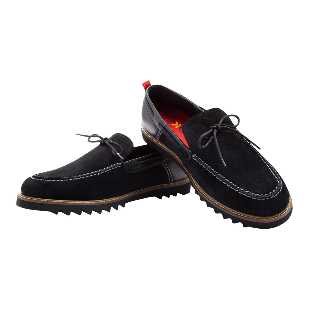EEKEN   EEKEN Black Lifestyle Lightweight Casual Shoes for Men (by Paragon)